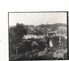 VINTAGE RARE PHOTO 4X6 1890'S SONORA, TUOLUMNE CO ,CAL. SIERRA RAIL WAY