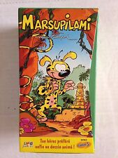 COFFRET 3 K7 VIDEO VHS MARSUPILAMI