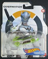 Genji 5//5 2020 Hot Wheels Gaming Character Cars Overwatch Mix D