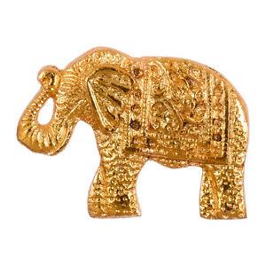 ⭐ Elephant Gold Vintage Animal Golden Door Knob Cabinet Cupboard Drawer Pull