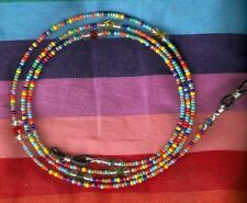 "Eyeglass Chain~Handmade Rainbow Mix~28""~NEW~~Buy 3 SHIP FREE"