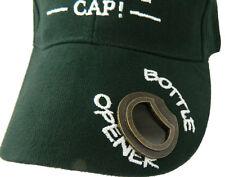 Baseball Hat Visor Bottle Opener Green  Cap Irish St. Patrick's Day 7222G