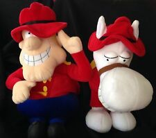 Dudley Do-Right & Horse From Rocky & Bullwinkle & Friends Nwt
