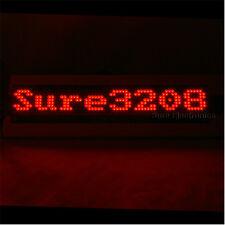P4 32X8 3208 Red LED Dot Matrix Unit Board LED Information Display Board
