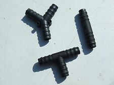 12mm hose pipe Connectors (3 pack) .