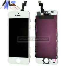 White Replacement LCD Digitizer Display Touch Screen Full Unit For iPhone 5S 5GS