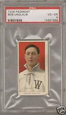 1909 t206 BOB UNGLAUB Senators PSA 4 VG-EX Piedmont