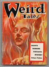 Weird Tales September 1954 FN 6.0 VINTAGE Pulp Magazine Horror Mystery