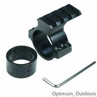 "Rifle Scope Accessory Mount 30mm & 25mm 1"" Weaver/Picatinny Rail Laser Torch"