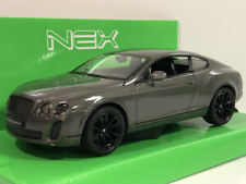 Bentley Continental Supersports Grey 1:24 Scale Welly 24018