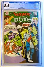The Hawk and the Dove No. 1 CGC ( 8.5 ) 1968 - Steve Ditko - (OW-WHITE Pages)