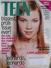 AMY SMART  March 1997 TEEN Magazine LEONARDO DICAPRIO