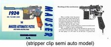 Mauser 1924 Automatic Machine Pistol with Wood Holster-stock