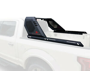Black Horse VIGOR Bar Include ADJUSTABLE LED SQUARE for 07-21 Toyota TUNDRA