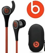 Beats Dr. Dre Tour 2 In-Ear Headphones Microphone Remote Black Red case like new