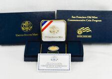2006 S $5 San Francisco Old Mint Commemorative Proof Gold Coin, Original Box COA