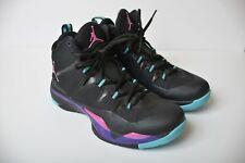 9051556596d Air Jordan Super.Fly 2 Blake Griffin Bel Air Black Purple Basketball Shoes  7 /