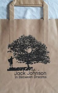 Jack Johnson:In Between Dreams Promotional Brown Paper Bag.Folk/Soft Rock.