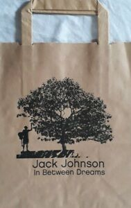 Jack Johnson:In Between Dreams Promotional Brown Paper Bag.Folk/Soft Rock.