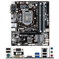 Gigabyte GA-B85M-DS3H For Intel B85 LGA1150 MicroATX Motherboard DDR3 Mainboard