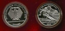 """10 EURO Gedenkmünze 2011  """" FIS Alpine Ski WM Garmisch-Partenkirchen """"  - PP -"""