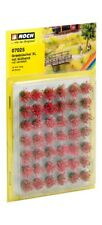 NOCH HO scale ~ GRASS TUFTS, RED BLOOMING X-LARGE ~ # 07025 suit model train