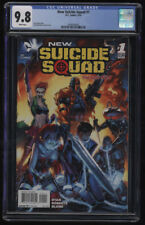New Suicide Squad #1 CGC 9.8 White Pages Sean Ryan Jeremy Roberts Harley New 52