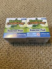 Learning Resources Beaker Creatures Reactor Pods, Lot Of 2. New