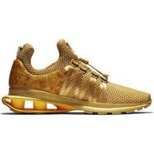 8a411226fe51d8 Nike Shox Gravity Shoes Women s Running Training Shoes Metallic Gold Size 8