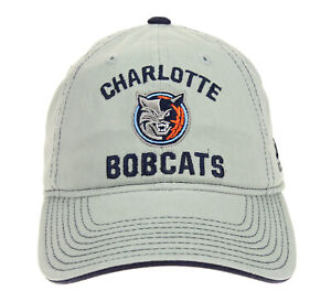 Adidas NBA Youth Charlotte Bobcats Adjustable Slouch Hat, Gray