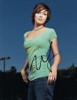 Mandy Moore signed 10x8 photo AFTAL & UACC FULL Signing Details + COA [16203]