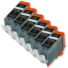 6P Black Quality Ink Cartridge for Canon PGI-220 MX860 MX870 MP980 MP990