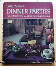 Betty Crocker's Dinner Parties A Contemporary Guide Easy Entertaining