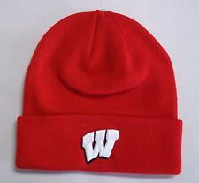Wisconsin Badgers Top Of The World Basic Knit Hat