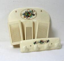 Ensemble bureau ou salle d'eau plastique Syla vintage