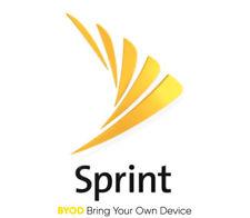 New listing Sprint Unlimited Data 4G Lte No Throttling - beats Verizon & At&T Byod & Sim