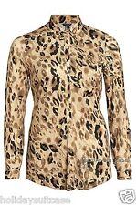 Camisas y tops de mujer de manga larga blusa de viscosa/rayón