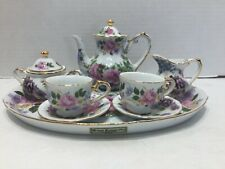 Godinger Royal Cotswolds Miniature Tea Set In The English Tradition