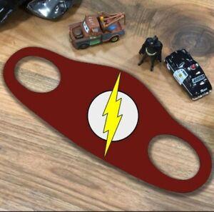 The Flash İnspired Face Mask  Marvel, Superhero, Flashman inspired masks