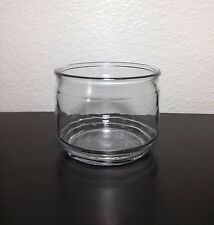 Clear Glass Craft Project Empty Candle Jar 11.5 oz