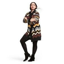 Missoni for Target Size Large L Chevron Zig Zag NWT Open Front Cardigan Sweater