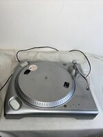 ION iTT USB Turntable Record Deck Silver 2007