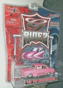 MAISTO 2006 1/64 G-RIDEZ URBAN DIE CAST COLLECTION 1967 PINK VW NOTCHBACK HTF!