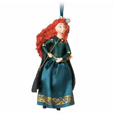 Disney Authentic Brave Princess Merida Christmas Ornament Figure New