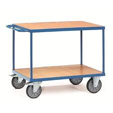 Fetra schwere Tischwagen mit 2 Böden