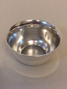 Tiffany & Co Sterling Silver Saccharrin Bowl