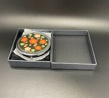 Compact Folding Make Up Mirror With Box