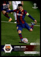 Lionel Messi 2020-21 Topps Now UEFA Champions League #1 /1377