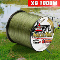 8 Strands Fishing Line 8 Braided 1000M Strong Japan Line Multifilament PE Line