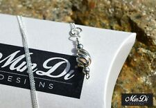 Handmade Sterling Silver Necklace / Pendant with Genuine Sterling Silver.